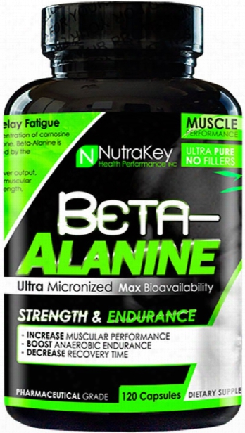 Nutrakey Beta-alanine - 120 Capsules