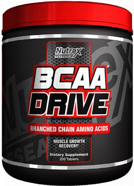 Nutrex Bcaa Drive Black - 200 Tablets