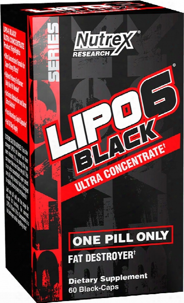 Nutrex Lipo-6 Black Ultra Concentrate - 60 Capsules