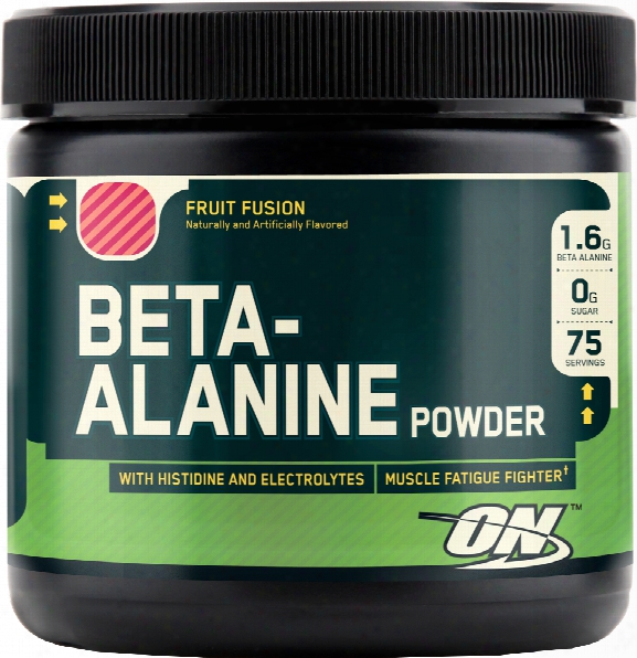 Optimum Nutrition Beta-alanine Powder - 75 Servings Fruit Fusion