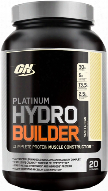 Optimum Nutrition Hydrobuilder - 20 Servings Vanilla Bean