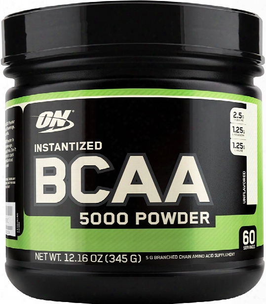 Optimum Nutrition Instantized Bcaa 5000 Powder - 60 Servings Unflavore