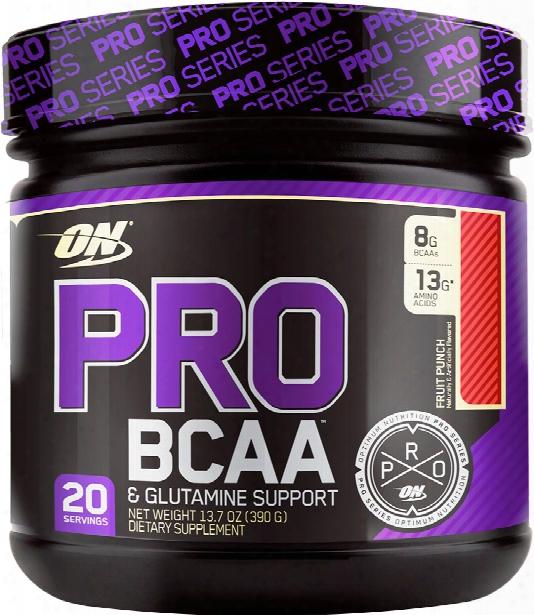 Optimum Nutrition Pro Bcaa - 20 Servings Fruit Punch