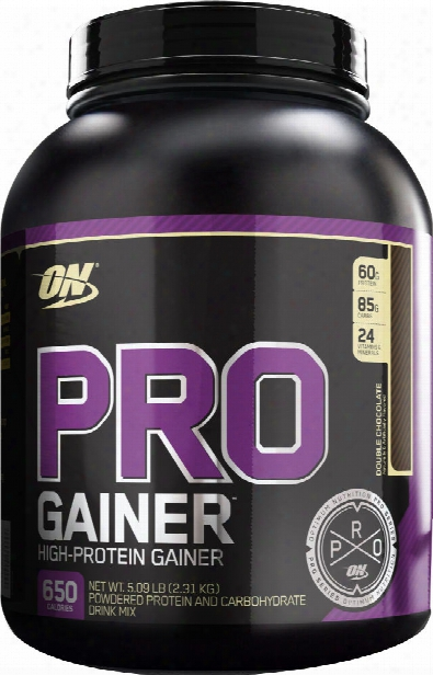 Optimum Nutrition Pro Gainer - 5.08lbs Double Chocolate