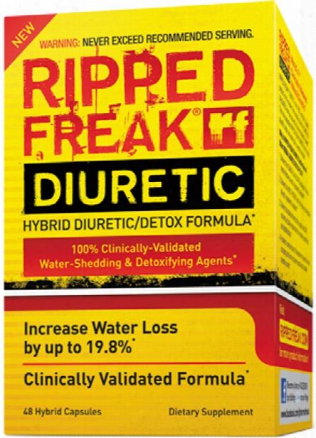 Pharmafreak Ripped Freak Diuretic - 48 Mongrel Capsules