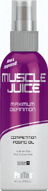 Pro Tan Muscle Juice Posing Oil - 4 Fl. Oz.