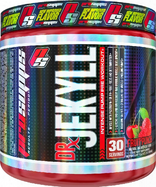 Prosupps Dr Jekyll - 30 Servings Punch