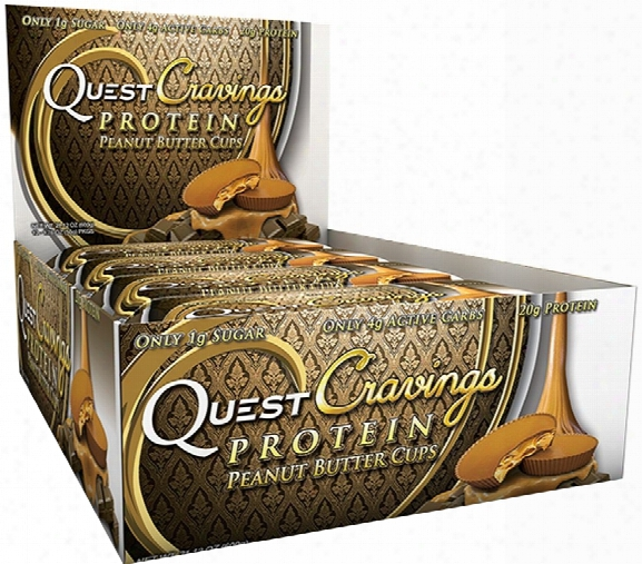 Quest Nutrition Cravings - Box Of 12 Peanut Butter Cups