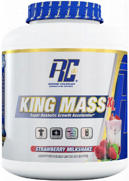 Ronnie Coleman Signature Series King Mass Xl - 6lbs Strawberry Milksha