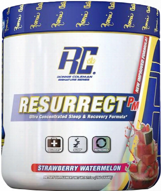 Ronnie Coleman Signature Series Resurrect-p.m. - 250g Strawberry Water