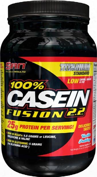 San 100% Casein Fusion - 2.2lbs Milk Chocolate Delight