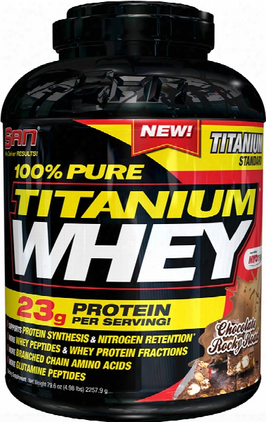 San 100% Pure Itanium Whey - 5lbs Chocolate Graham Cracker