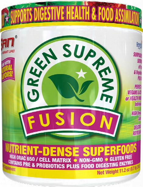 San Green Supreme Fusion - 30 Servings