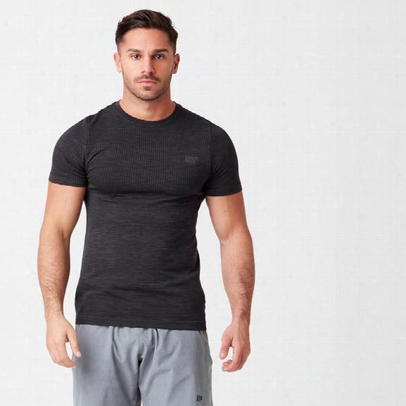 Sculpt Seamless T-shirt - Black - S