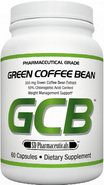 Sd Pharmaceuticals Green Coffee Bean - 60 Capsules