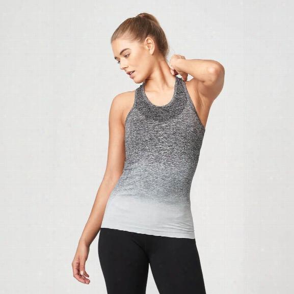 Seamless Ombre Vest - Black - Xs