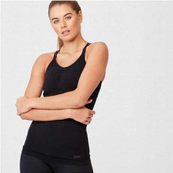 Shape Seamless Vest - Black - M
