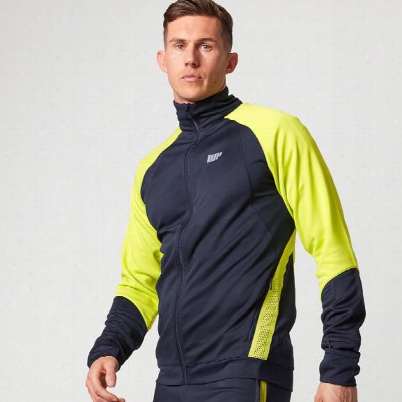 Strike Football Jacket - Navy - S