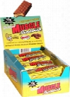 Muscle Foods Muscle Sandwich - Box of 12 Peanut Butter Graham Cracker