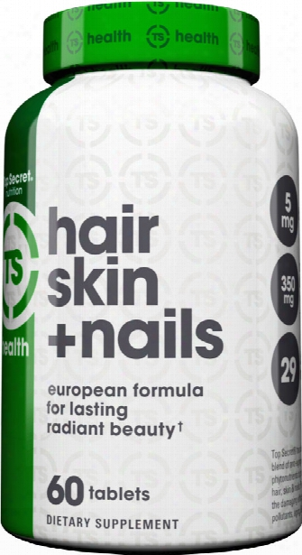 Top Secret Nutrition Hair, Skin & Nails - 60 Tablets