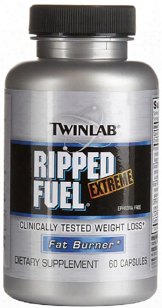 Twinlab Ripped Fuel Extreme - 60 Capsules