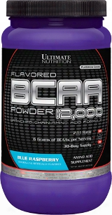 Ultimate Nutrition Flavored Bcaa 12,000 Powder - 60 Servings Blue Rasp