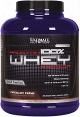 Ultimate Nutrition Prostar 1000% Whey Protein - 5lbs Chocolate Creme