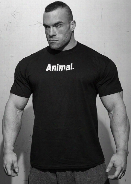 Universal Clothing & Gear Animal T-shirt - Black Xl