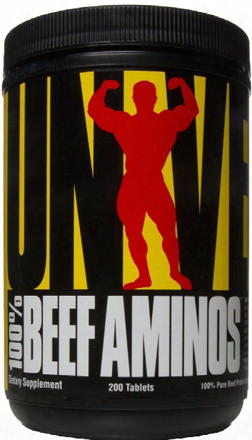 Universal Nutrition 100% Beef Aminos - 200 Tablets
