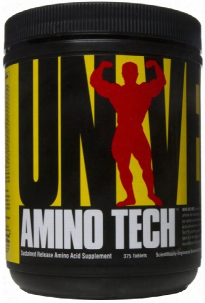 Universal Nutrition Amino Tech - 375 Tablets