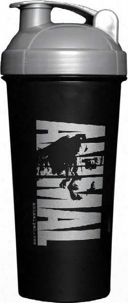 Universal Nutrition Animal Shaker - 25oz Black/silver