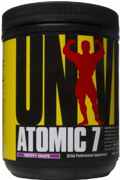 Universal Nutrition Atomic 7 - 30 Servings Groovy Grape