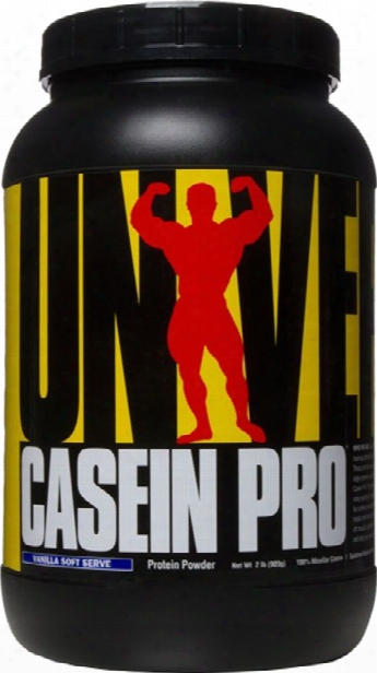 Universal Nutrition Casein Pro - 2lbs Vanilla Soft Serve