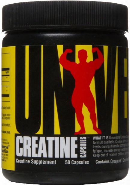 Universal Nutrition Creatine Capsules- 50 Capsules