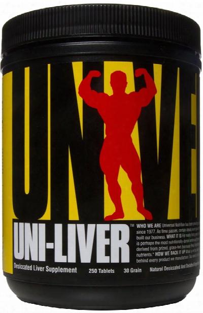 Universal Nutrition Uni-liver - 250 Tablets