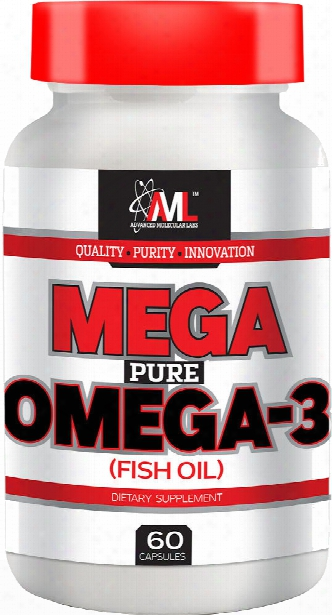 Advanced Molecular Labs Mega Pure Omega-3 - 60 Capsules