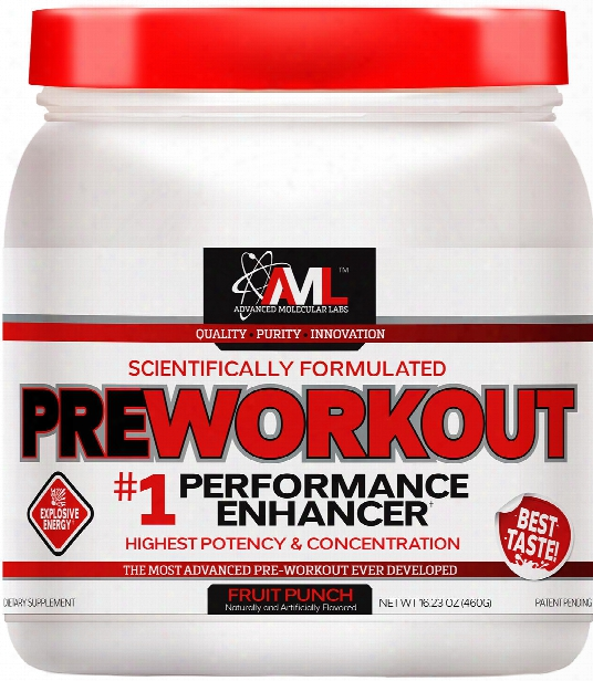 Advanced Molecular Labs Preworkout - 20 Servings Fruit Punch
