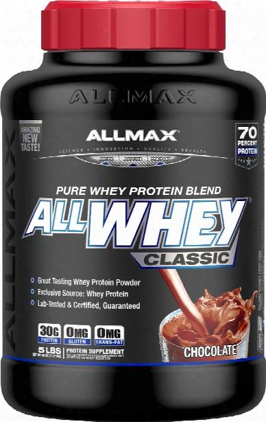 Allmax Nutrition Allwhey Classic - 5lbs Chocolate