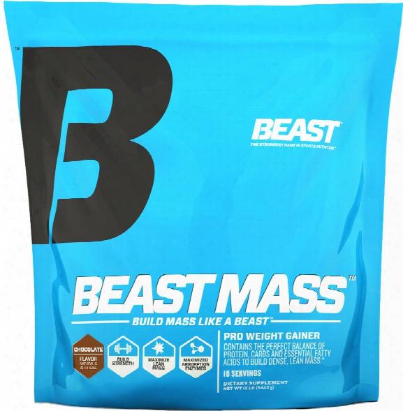 Beast Sports Nutrition Beast Mass - 12lbs Chocolate