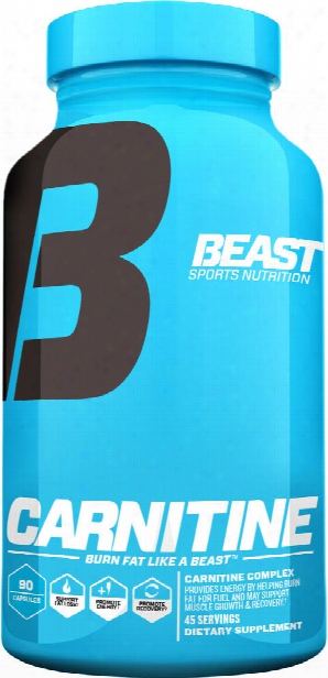 Beast Sports Nutrition Carnitine - 90 Capsules