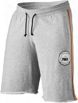 Better Bodies Bb Raw Sweatshorts - Grey/orange Xl