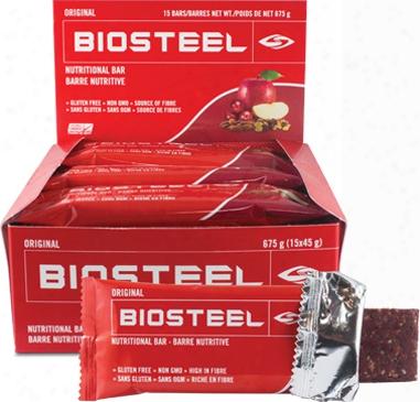 Biosteel Nutritional Bars - Box Of 15 Original