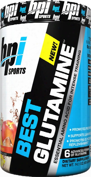 Bpi Sports Best Glutamine - 400g Peach Mango