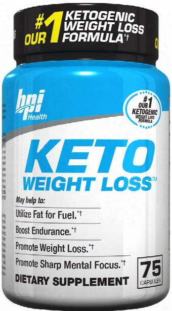 Bpi Sports Keto Weight Loss - 75 Capsules