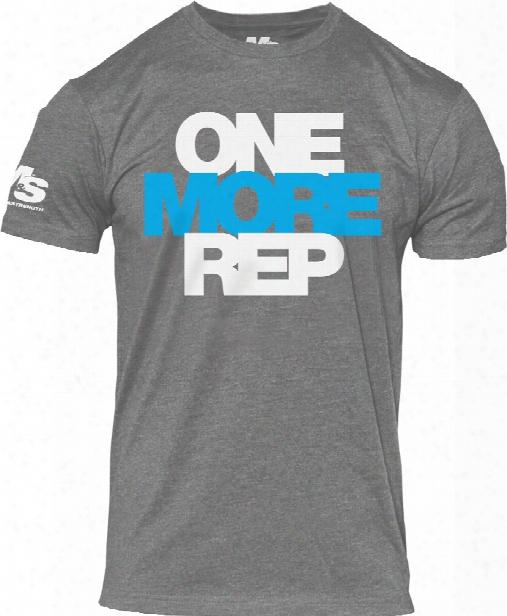 Bpi Sports One More Rep T-shirt - Grey Medium