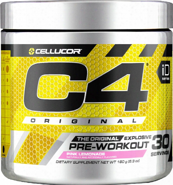 Cellucor C4 - 30 Servings Pink Lemonade