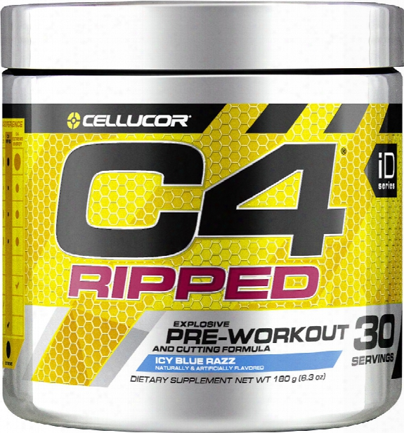 Cellucor C4 Ripped - 30 Servings Fruit Punch