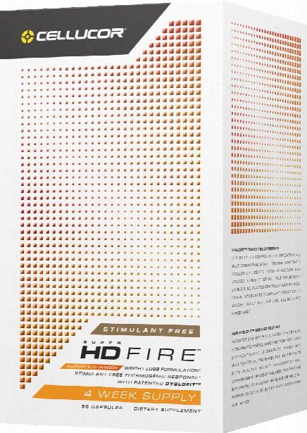 Cellucor Super Hd Fire Non-stimulant - 56 Capsules Stimulant Free