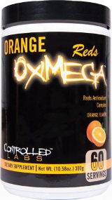 Controlled Labs Oximega Reds - 60 Servings Orange