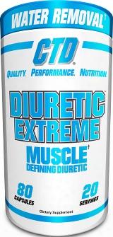 Ctd Sports Diuretic Extreme - 80 Capsules